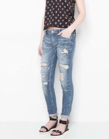 elblogdeanasuero_Ripped jeans_Pull & Bear pitillos