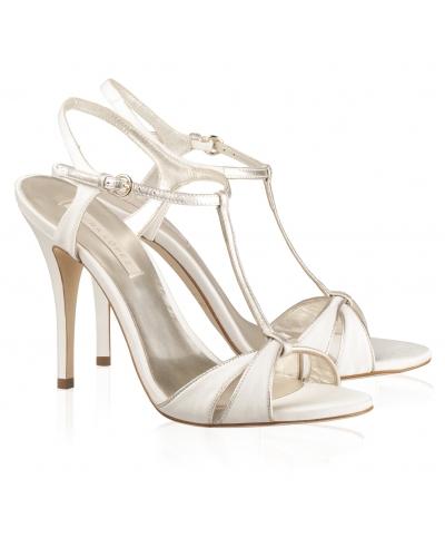 2958fc72bf8 elblogdeanasuero Zapatos novia 2014 Pura López sandalias con vivos  metalizados