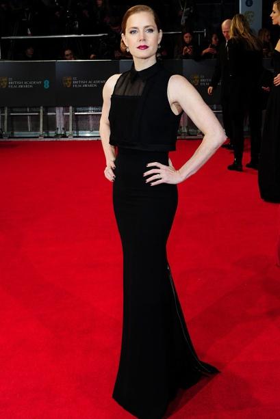 elblogdeanasuero_Bafta 2014_Amy Adams Victoria Beckham corte sirena negro
