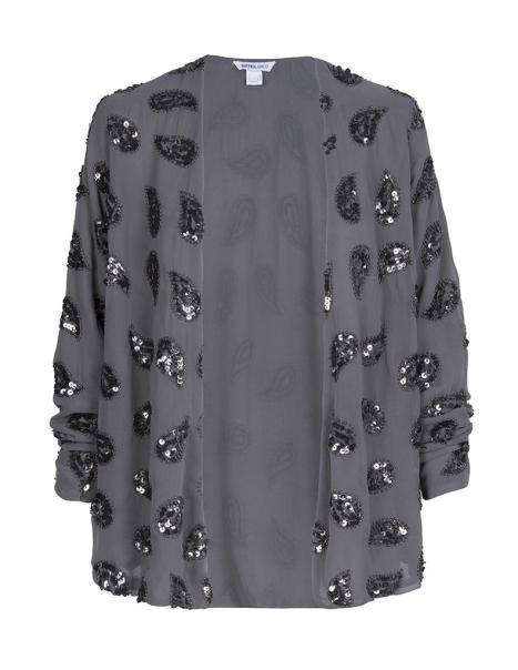 elblogdeanasuero_El boom de la semana_Blanco chaqueta kimono gris paillettes