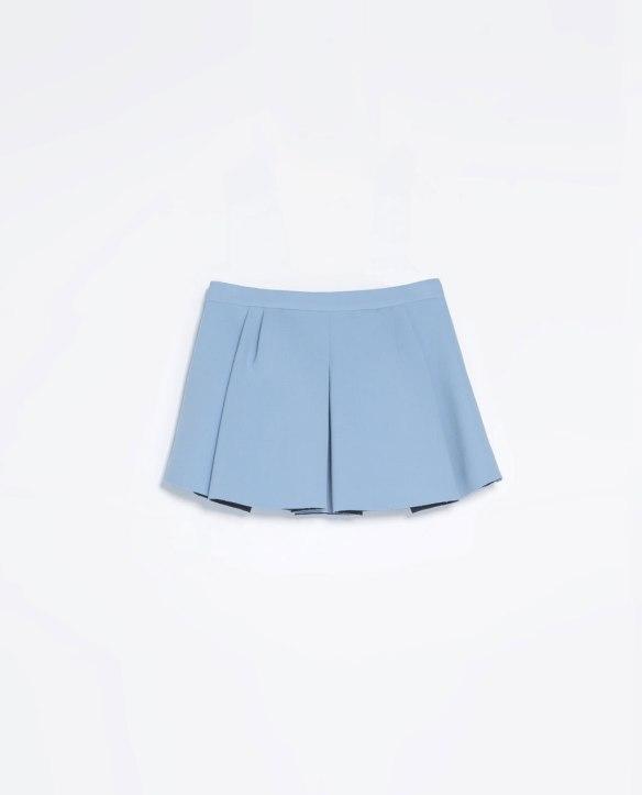 elblogdeanasuero_El boom de la semana_Zara minifalda azul celeste