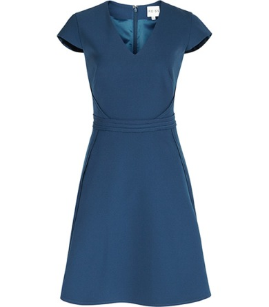 elblogdeanasuero_vestidos cortos bodas primavera 2014_Reiss vestido azul evasé