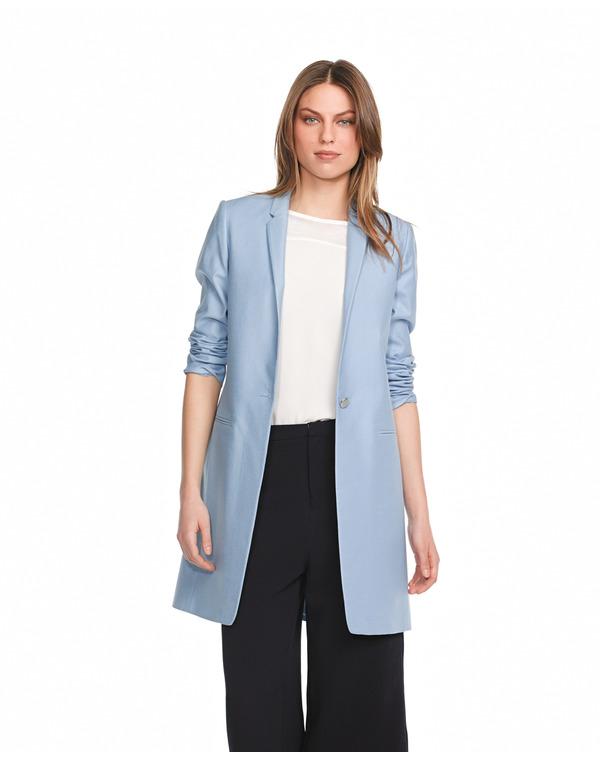 Abrigo azul | El blog de Ana Suero