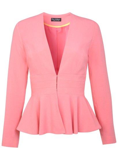 elblogdeanasuero_chaquetas boda primavera 2014_Miss Selfridge chaqueta peplum rosa