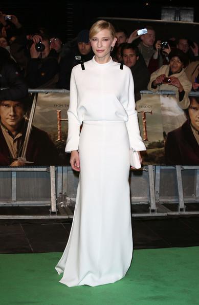 elblogdeanasuero_El estilo de Cate Blanchett_Givenchy blanco minimalista