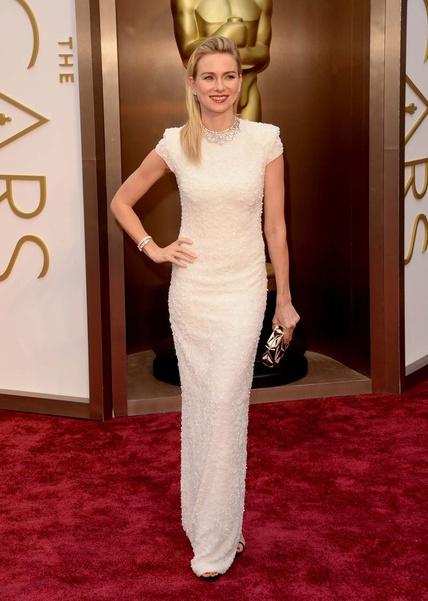 elblogdeanasuero_Oscars 2014_Calvin Klein Naomie Watts blanco