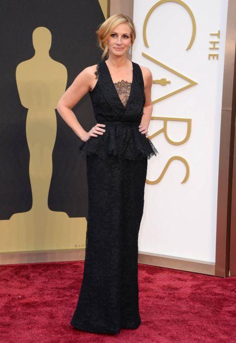 elblogdeanasuero_Oscars 2014_Givenchy Julia Roberts negro encaje