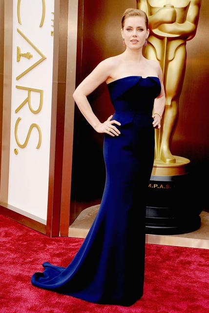 elblogdeanasuero_Oscars 2014_Gucci Amy Adams azul palabra de honor