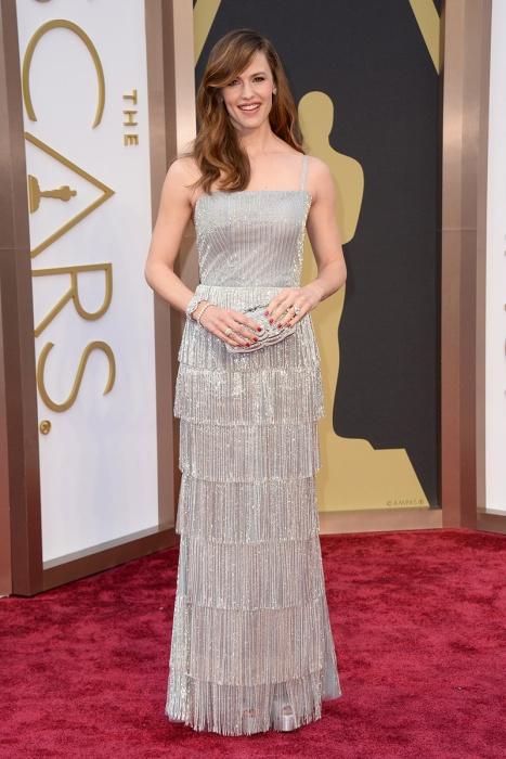 elblogdeanasuero_Oscars 2014_Oscar de la Renta Jennifer Garner años 20 flecos paillettes