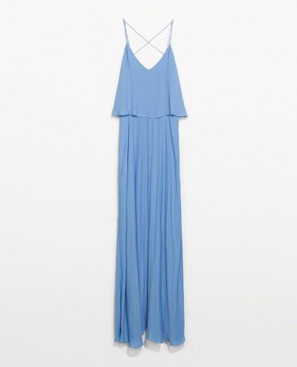 elblogdeanasuero_azul claro_Zara vestido largo tirantes