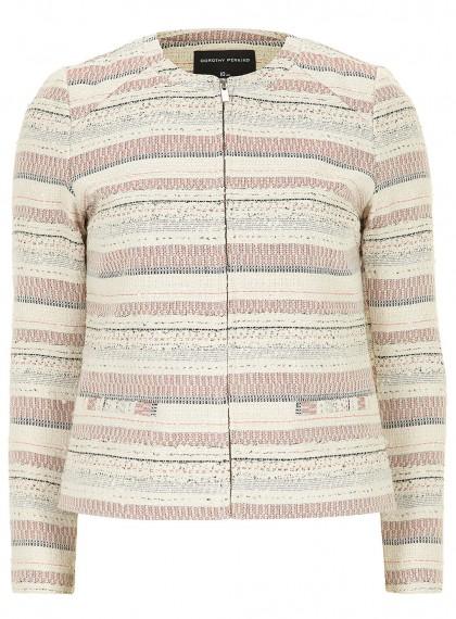 elblogdeanasuero_Color rosa claro_Dorothy Perkins chaqueta rayas cremallera
