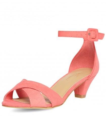 elblogdeanasuero_Color rosa claro_Dorothy Perkins sandalias tacón bajo pulsera