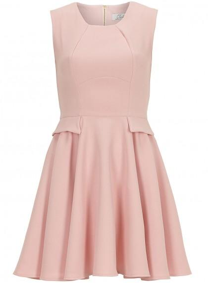 elblogdeanasuero_Color rosa claro_Dorothy Perkins vestido vuelo solapas