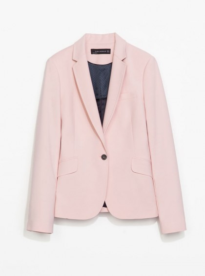 elblogdeanasuero_Color rosa claro_Zara blazer