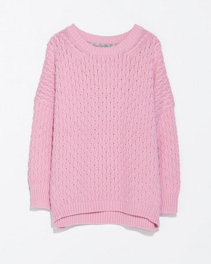 elblogdeanasuero_Color rosa claro_Zara jersey de ochos
