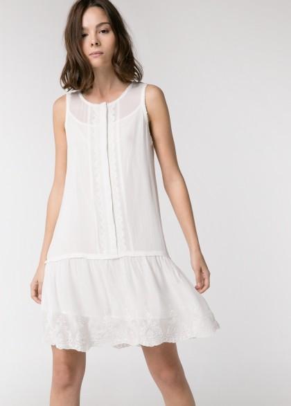 elblogdeanasuero_Little white dress_Mango minivestido lencero con vuelo