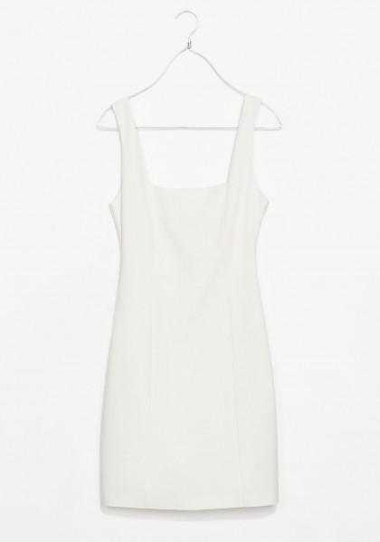 elblogdeanasuero_Little white dress_Zara TRF vestido de tubo escote cuadrado
