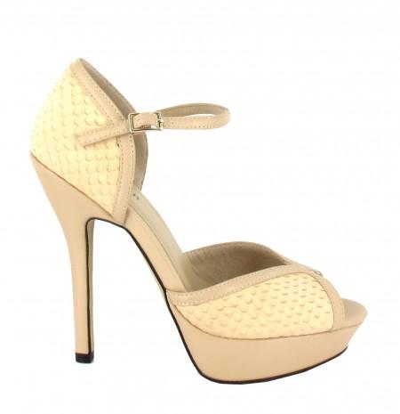 226ef27d171 elblogdeanasuero Zapatos de fiesta Menbur sandalias plataforma texturas  beige