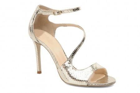 elblogdeanasuero_Zapatos de fiesta_Sarenza sandalias metalizadas tipo serpiente