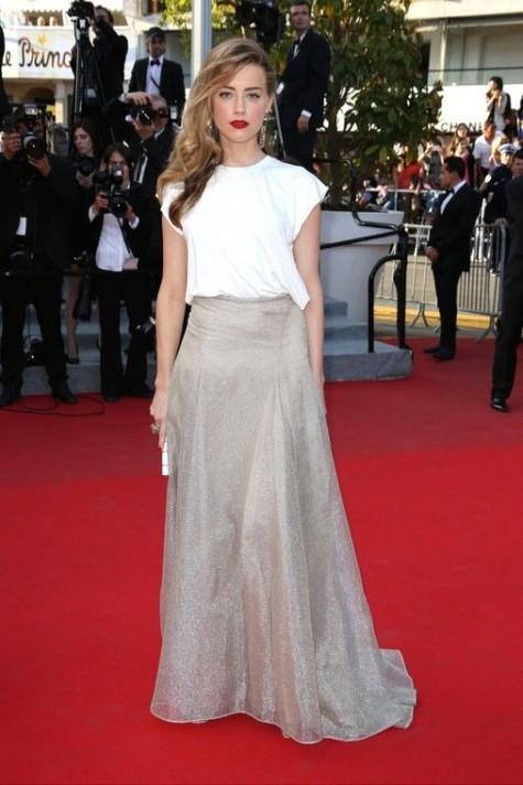 elblogdeanasuero_Festival de Cannes_Amber Heard Vionnet falda y blusa