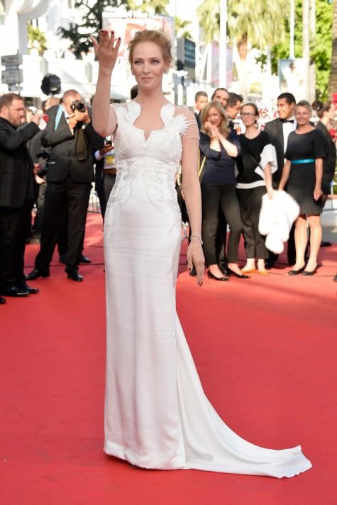 elblogdeanasuero_Festival de Cannes_Uma Thurman Marchesa blanco