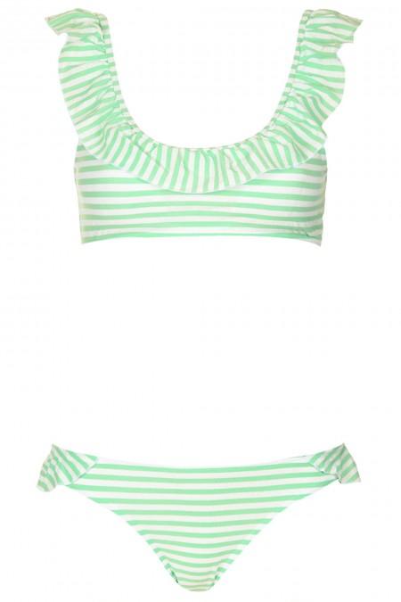 elblogdeanasuero_Bikinis 2014_Topshop bikini estilo camiseta rayas