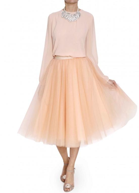 elblogdeanasuero_Propuestas invitadas boda_Bgo & Me falda midi de tul
