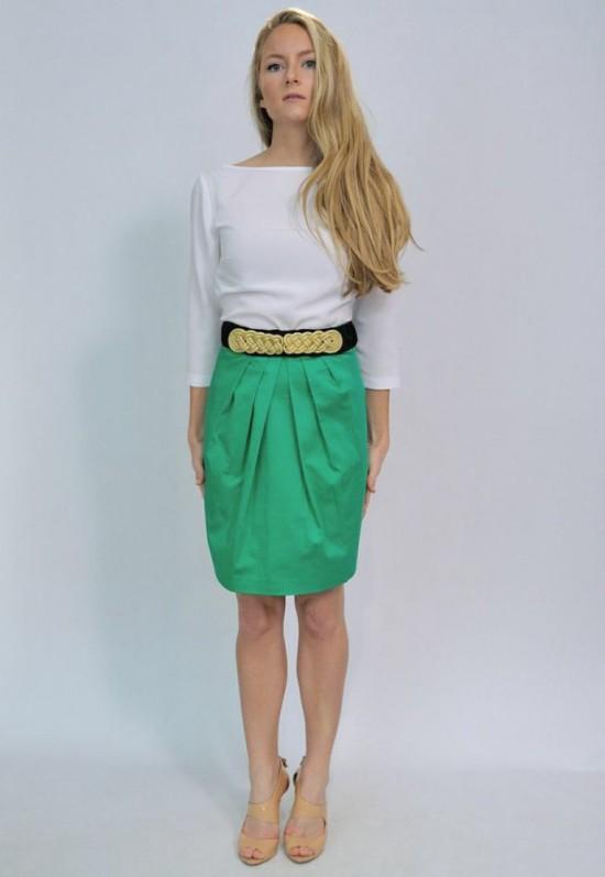 elblogdeanasuero_Propuestas invitadas boda_Bruna falda corta pliegues