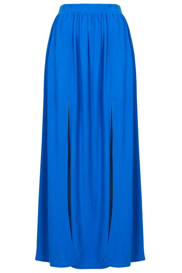 elblogdeanasuero_Faldas largas_Topshop falda larga azul aberturas