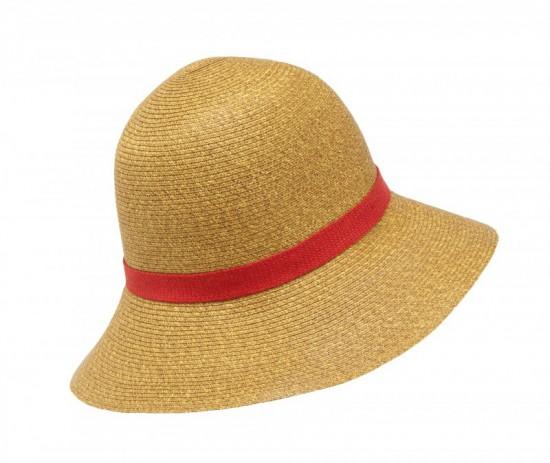 elblogdeanasuero_Sombreros playa_Bimba y Lola sombrero cinta roja