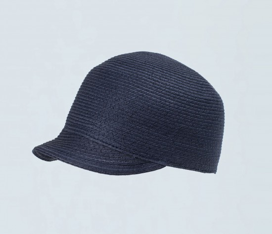 elblogdeanasuero_Sombreros playa_Uterque gorra rafia azul