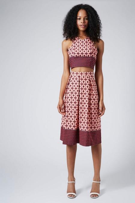 elblogdeanasuero_Tendencia matchy matchy_Topshop falda midi y crop top estampados