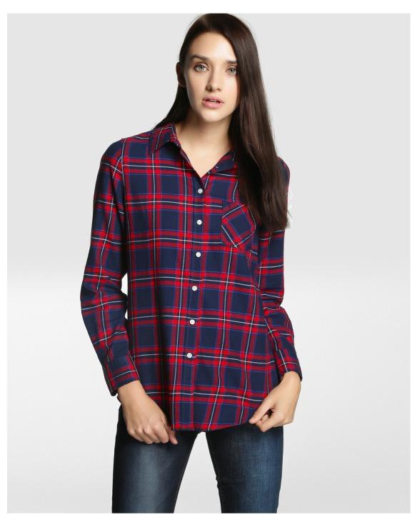 elblogdeanasuero_Camisas de cuadros_El Corte Ingles camisa cuadros azul y rojo