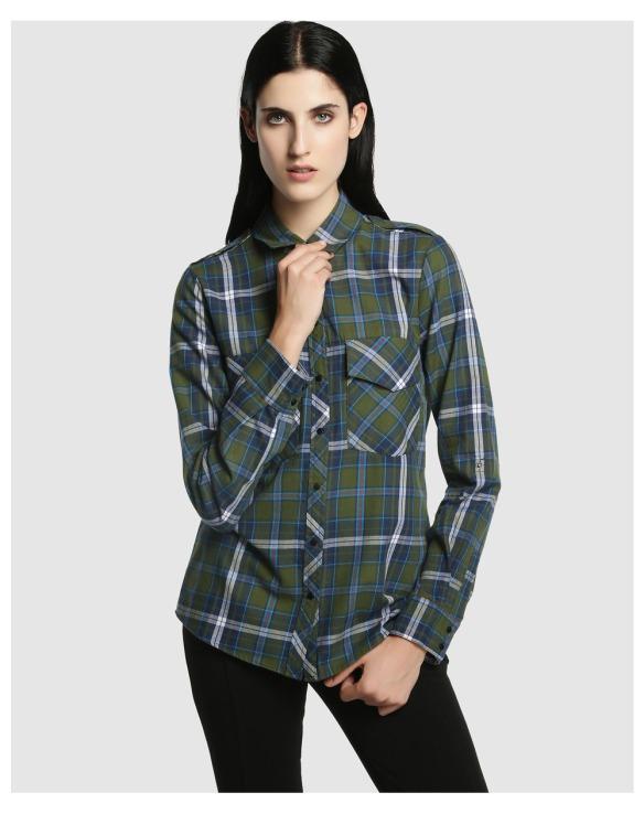 elblogdeanasuero_Camisas de cuadros_El Corte Ingles camisa cuadros verdes