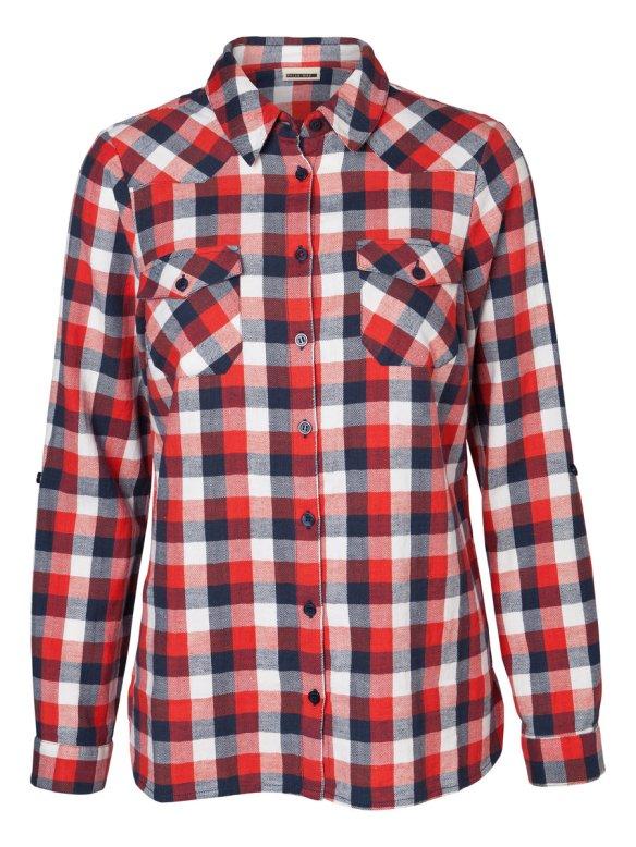 elblogdeanasuero_Camisas de cuadros_Vero Moda cuadros rojos, azules y blancos