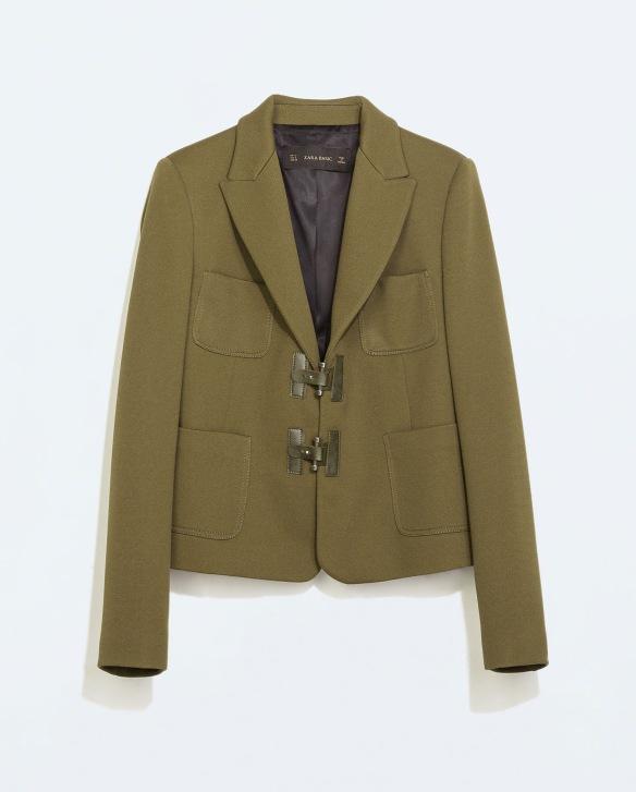 elblogdeanasuero_Verde militar_Zara blazer verde militar