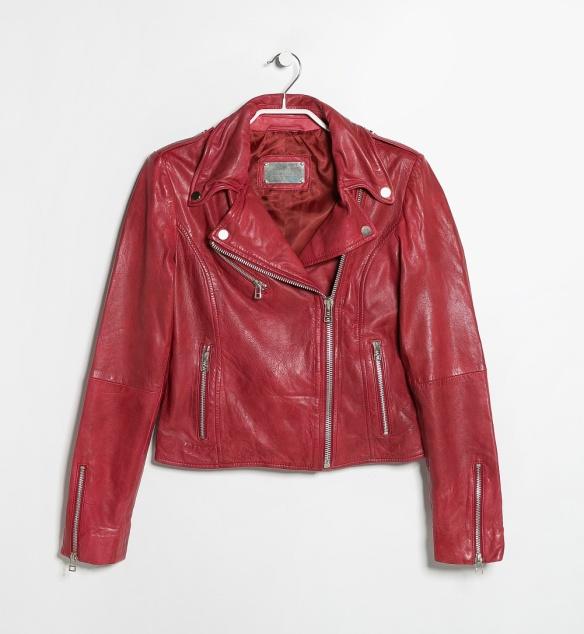 elblogdeanasuero_Cazadora biker_Mango cazadora piel roja
