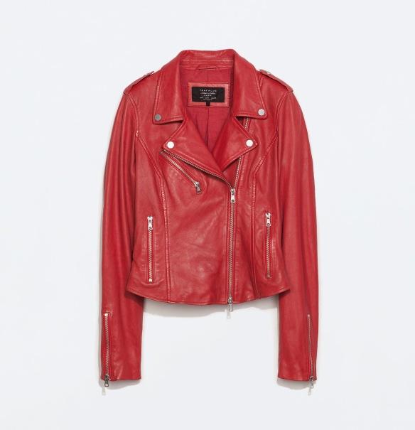 elblogdeanasuero_Cazadora biker_Zara cazadora piel roja