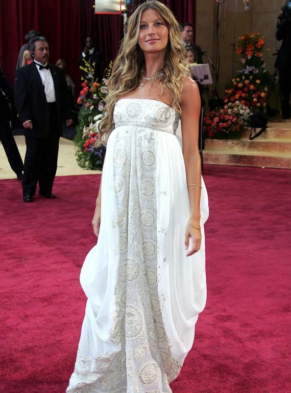 elblogdeanasuero_El estilo de Gisele Bundchen_Dior estilo griego Oscars