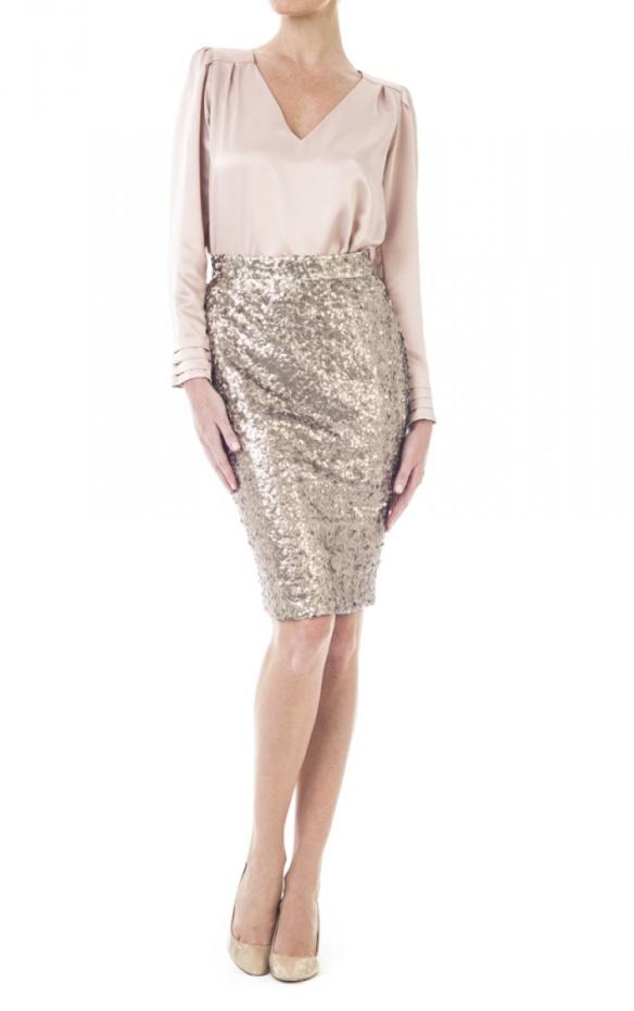 elblogdeanasuero_Invitadas bofa otoño-invierno 2014-2015_Double Ikkat falda paillettes y blusa