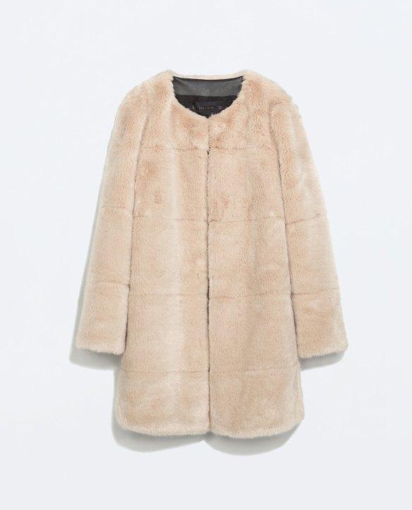elblogdeanasuero_Rosa para invierno_Zara abrigo de pelo rosa