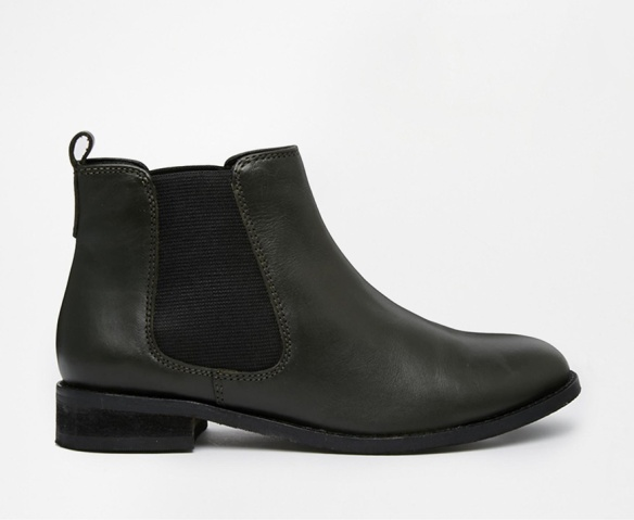 elblogdeanasuero_Botas Chelsea_Asos botines verde muy oscuro