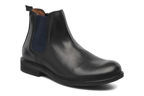 elblogdeanasuero_Botas Chelsea_Sarenza botines negros con elástico azul