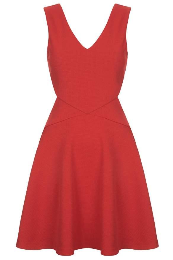 elblogdeanasuero_Vestidos de fiesta para Navidad_Topshop vestido cut out rojo