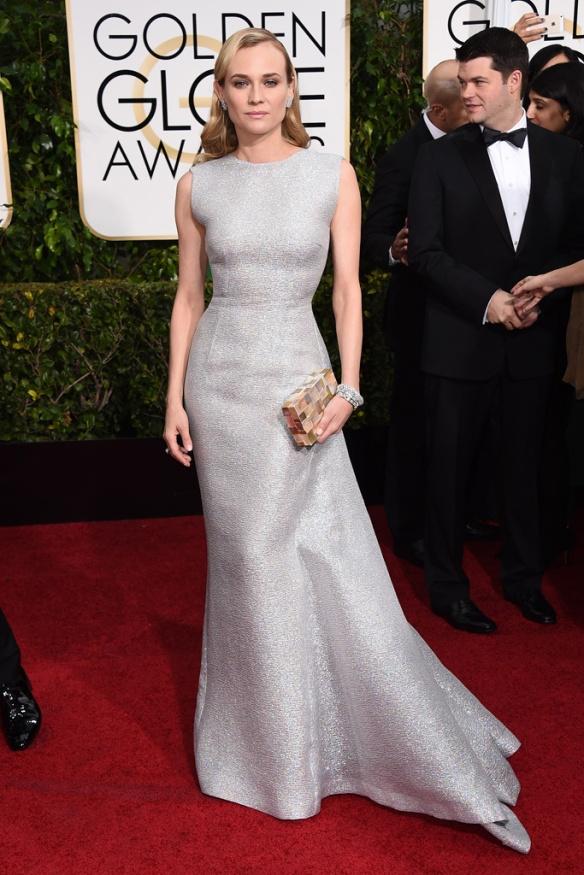 elblogdeanasuero_Globos de Oro 2015_Diane Kruger vestido Emilia Wickstead metalizado sin mangas