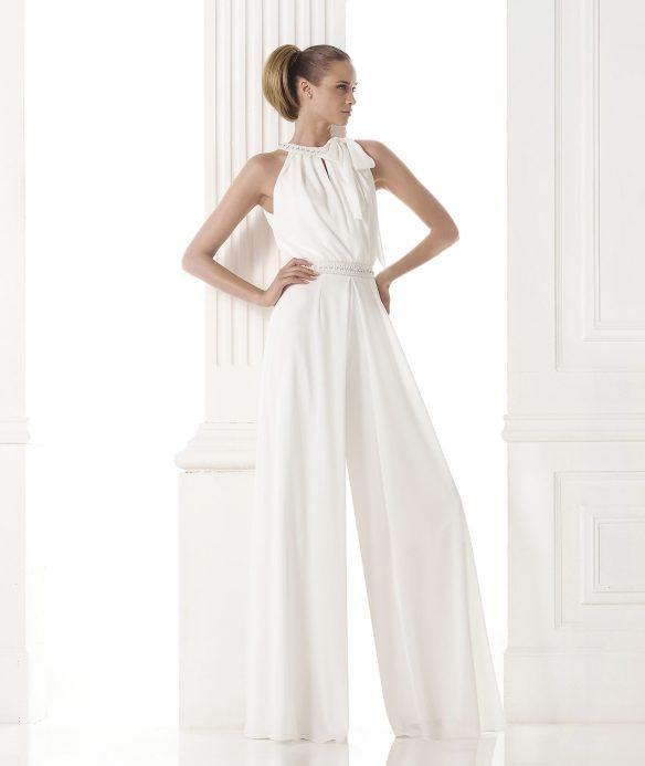 elblogdeanasuero-Vestidos de novia 2015-Pronovias mono blanco