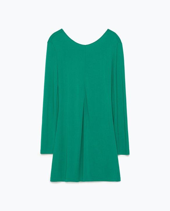 elblogdeanasuero_Pantone Primavera 2015_Zara Color verde lucite mono corto