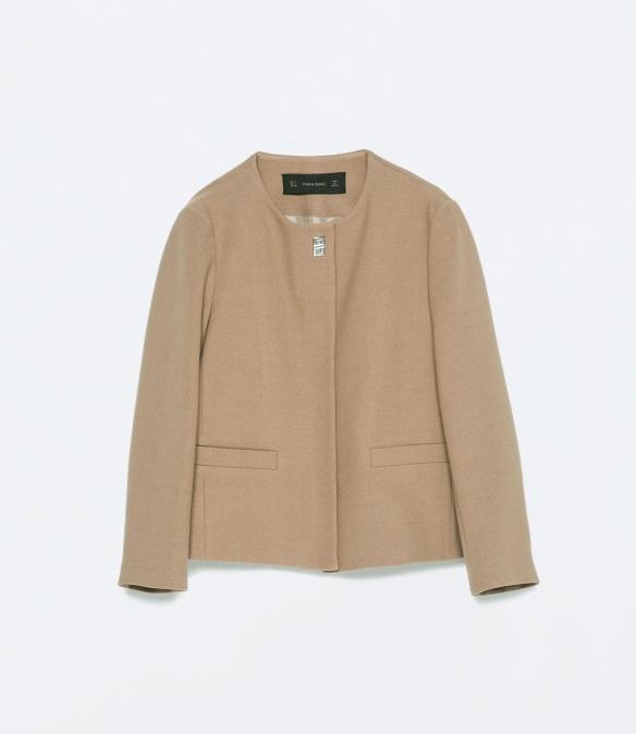 elblogdeanasuero_Pantone Primavera 2015_Zara Colortostado blazer corta