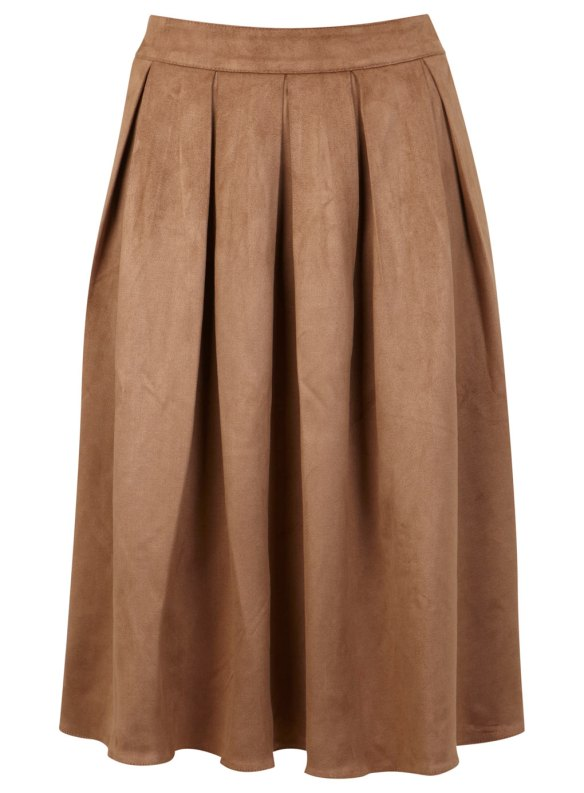 Falda de antelina de Miss Selfridge