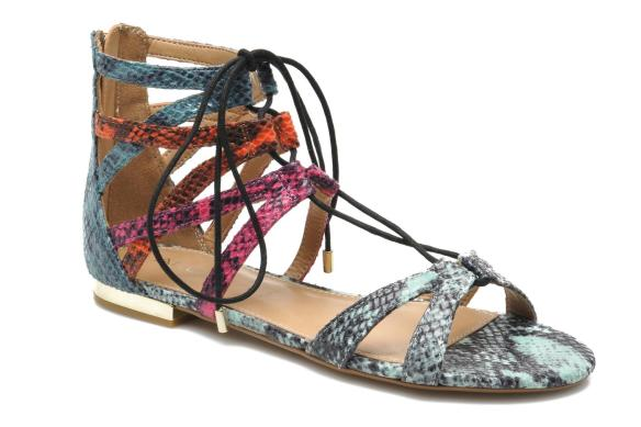 elblogdeanasuero-sandalias romanas-Aldo bajas de pitón de colores